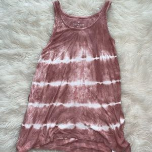 American Eagle side tie tank
